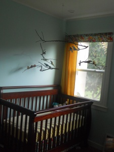 DIY Bird Mobile by Julia Dziuba, Crib